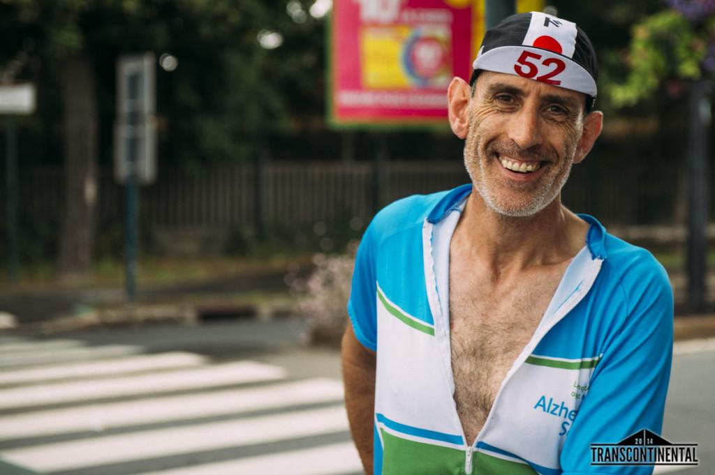Transcontinental 2014 Race. First Checkoint Cafe Au Reveil Matin, Paris